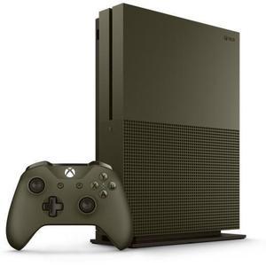 Microsoft Xbox One S 1 TB Konsole - Olivgrün