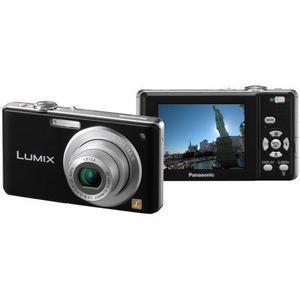Compact Panasonic Lumix DMC-FS6 - Musta + Objektiivi Panasonic 33-132mm f/2.8-5.9