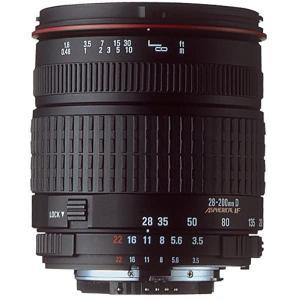 Lens Sigma F/AF 28-200mm f/3.5-5.6