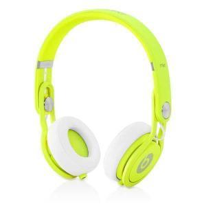 Mixr Redutor de ruído Auscultador- Bluetooth com microfone - Branco/Amarelo