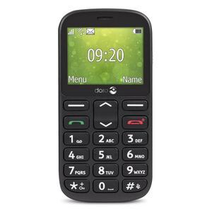 Doro 1360 Dual Sim - Nero- Compatibile Con Tutti Gli Operatori