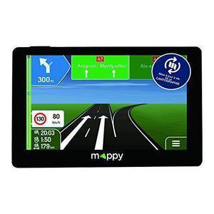 GPS Logicom Mappy Maxi E738 - Zwart