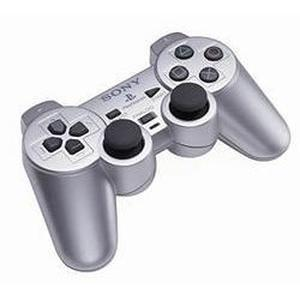 Manette PS2 Sony Dual Shock 2 - Argent