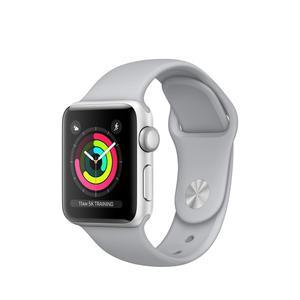 Apple Watch (Series 3) Septiembre 2017 38 mm - Aluminio Plata - Correa Deportiva Niebla
