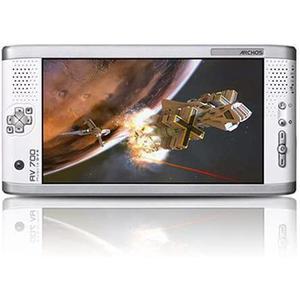 Lecteur MP4 portable 40Go - Archos AV 700 - Blanc et metal