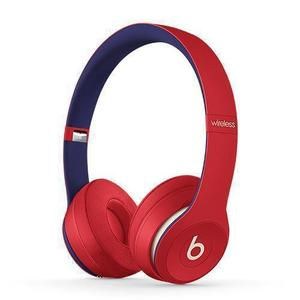 Casque Réducteur de Bruit Bluetooth avec Micro Beats By Dr. Dre Solo 3 Wireless - Rouge/Bleu