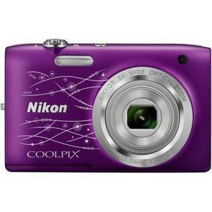 Kompaktkamera Nikon Coolpix A100 Violett + Objektiv Nikon Nikkor Wide Optical Zoom 26-130 mm f/3.2-6.5