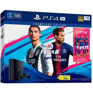Console Sony PlayStation 4 Pro 1 TB - Nero + 1 telecomando + Fifa 19