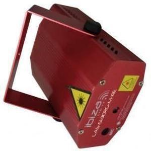 Mini-Laser Ibiza Las-S130RG-M - Rojo