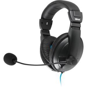 Quasar Jogos Auscultador- com microfone - Preto