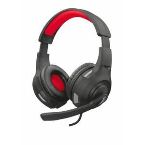 GXT 307 Ravu Gaming Hoofdtelefoon - Microfoon Zwart/Rood