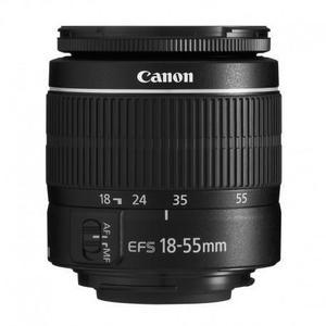 Lente Canon EF-S 18-55 III
