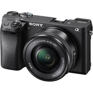 Hybrid Sony Alpha A6300  - Black + Selp Lens  f/3.5-5.6