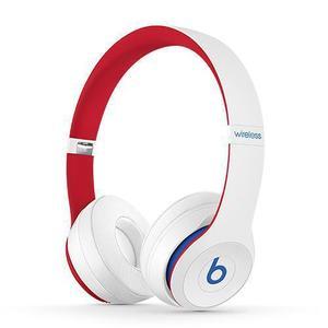 Cuffie   Bluetooth  con Microfono Beats By Dr. Dre Solo 3 - Bianco/Rosso/Azuro