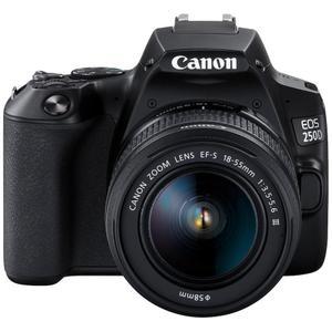 Spiegelreflexcamera Canon EOS 250D - Zwart + Lens Canon EF-S 18-55mm f/3.5-5.6 III