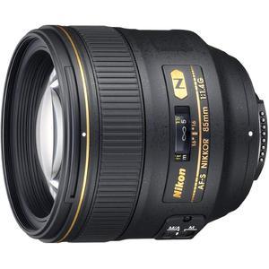Objectif Nikon F AF-S FX Nikkor 85mm f/1.4G