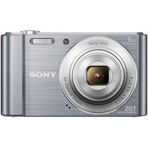 Compacto - Sony Cyber-shot DSC-W810 - Plateado