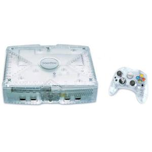 Console Xbox 20GB + 1 controller - Crystal