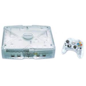 Spielekonsole Xbox 20 GB  - Weiss (Crystal Edition)