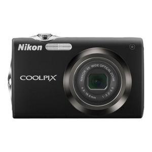 Compact Nikon Coolpix S3000 - Musta + Objektiivi Nikon 27-108mm f/3.2-5.9
