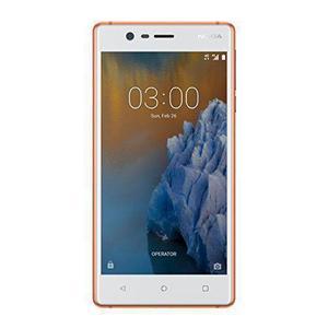Nokia 3 16 Go Dual Sim - Blanc/Orange - Débloqué