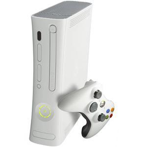 Microsoft Xbox 360 Arcade 10Go + Manette - Blanc