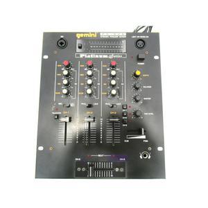DJ-Mixer Gemini PS-626 - Zwart