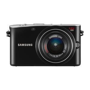 Hybdride  NX100 - Schwarz + Objektiv  20-50mm 1:3,5-5,6 ED