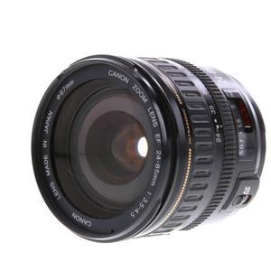 Objektiv  Canon EF 24-85MM Ultrasonic 1: 3,5-4,5 - Schwarz