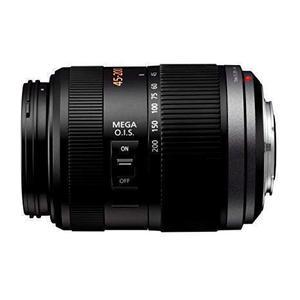 Objectif Panasonic lumix g vario 45-200 mm f/4.0-5.6 mega O.I.S - Noir