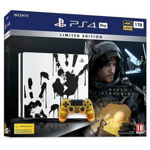 Console Sony PlayStation 4 Pro 1 To Edition Speciale Death Stranding - Blanc