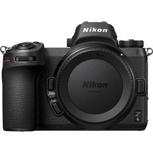 Hybridikamera Nikon Z6 vain vartalo - Musta