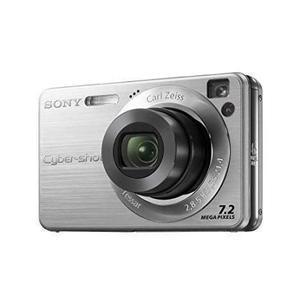 Compact Sony Cyber-Shot DSC-W110 - Hopea + Objektiivi Sony 32–128mm f/2.8–5.8