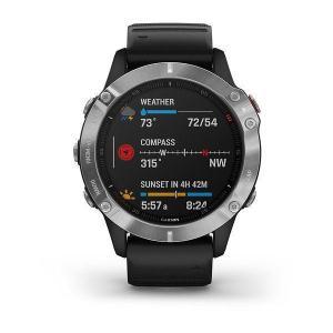 Kellot Cardio GPS Garmin Fenix 6 - Harmaa/Musta