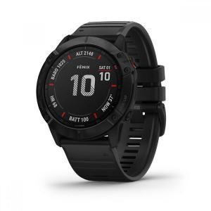 Horloges Cardio GPS Garmin Fénix 6X Pro - Zwart