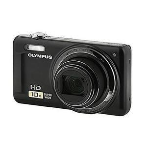 Kompaktikamera Olympus VR-310 Musta + Objektiivi Olympus Wide Optical Zoom 24-240 mm f/3-5.7