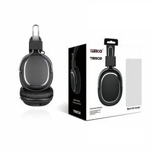 Kopfhörer Bluetooth mit Mikrophon Temco TBS02 - Schwarz