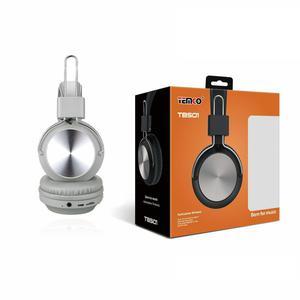 Kopfhörer Bluetooth mit Mikrophon Temco TBS01 - Grau
