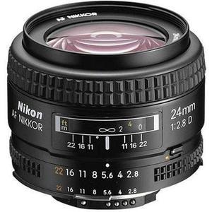 Objectif Nikon Nikkor AF 24 mm f/2,8