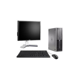 """Hp Compaq 8200 Elite SFF 19"""" Core i5 3,1 GHz - HDD 250 GB - 4GB teclado francés"""