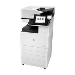 Imprimante multifonction HP ColorLaserJet Managed E87650 - Blanc