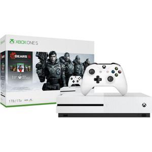 Konsole Microsoft Xbox One S Gears 5 Edition 1 TB + Joystick - Weiß