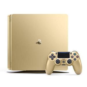 Gameconsole Sony PlayStation 4 Slim 500 GB + Controller - Goud