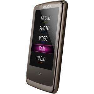 MP3-player & MP4 8GB Archos 3 Cam Vision - Schwarz/Grau