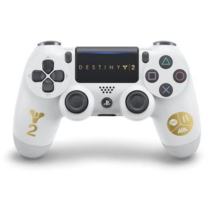 Manette PS4 DualShock 4 Editon Destiny 2 - Blanc / Or
