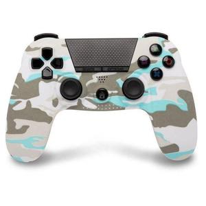 Controller wireless Playstation 4 sotto controllo - Cammo White + presa jack