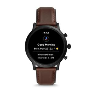 Montre Cardio GPS Fossil Carlyle HR Gen 5 FTW4026 - Noir