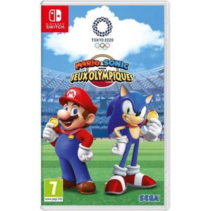 Mario & Sonic Aux Jeux Olympiques Tokyo 2020 - Nintendo Switch
