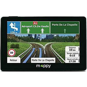 GPS Logicom Mappy Iti E438T - Zwart