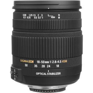 Objectif Sigma EF 18-50mm f/2.8-4.5